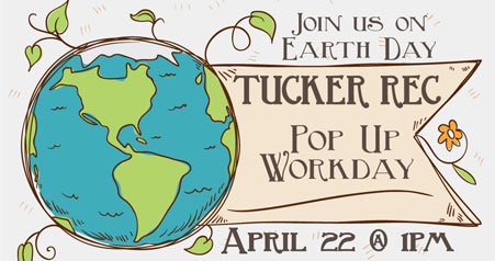 Inaugural Earth Day Workday